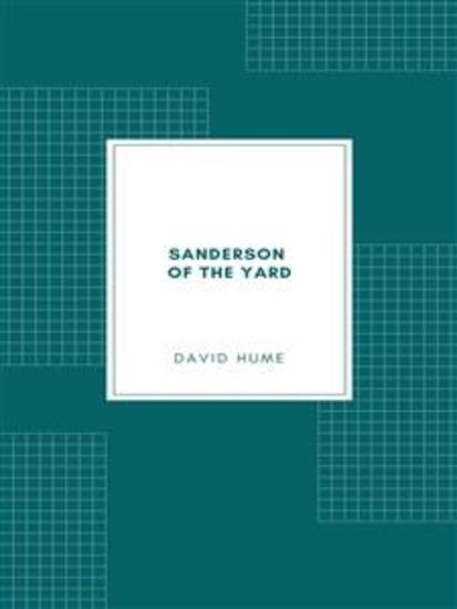 Sanderson of the Yard - cover