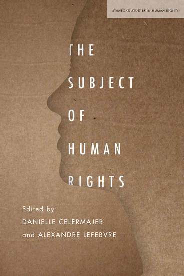 The Subject of Human Rights - cover