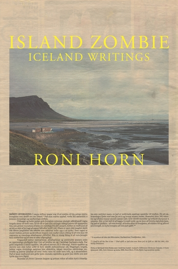 Island Zombie - Iceland Writings - cover