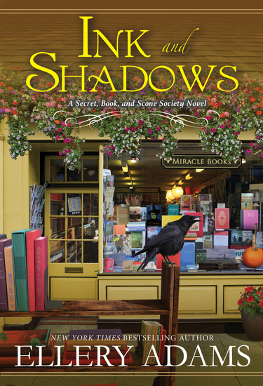 Ink and Shadows - A Witty & Page-Turning Southern Cozy Mystery - cover