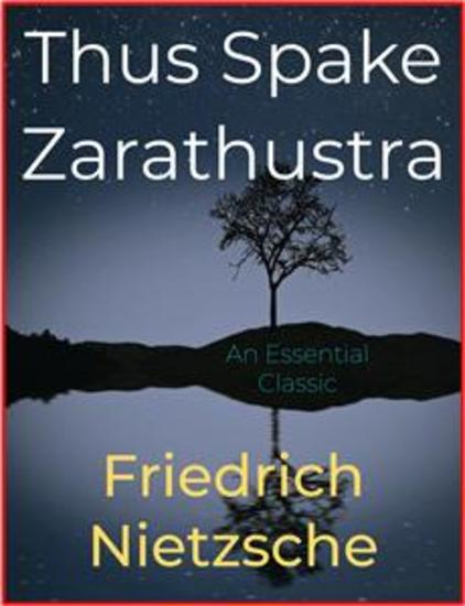 Thus Spake Zarathustra - cover