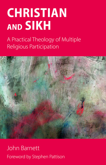 Christian and Sikh - A Practical Theology of Multiple Religious Participation - cover