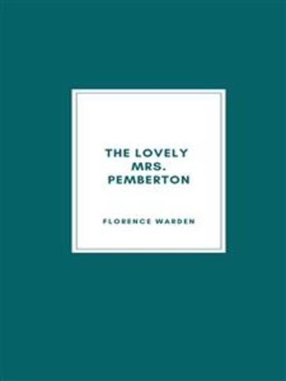 The Lovely Mrs Pemberton - cover