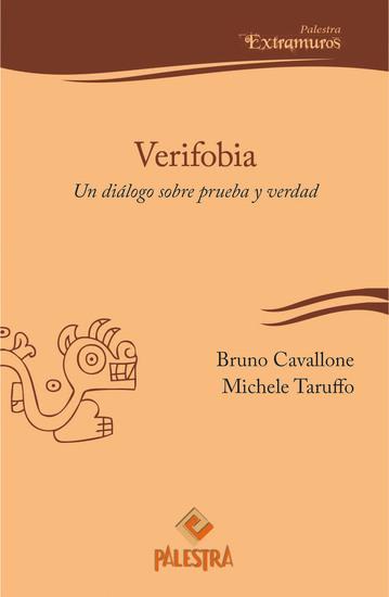 Verifobia - Un diálogo sobre prueba y verdad - cover