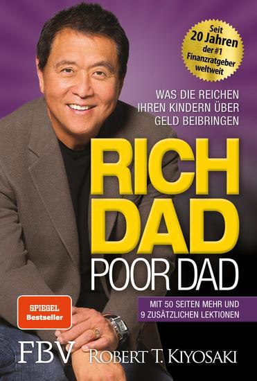 Rich Dad Poor Dad - Was die Reichen ihren Kindern über Geld beibringen - cover
