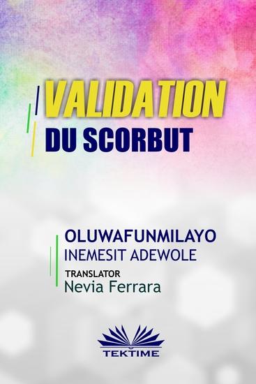 Validation Du Scorbut - cover