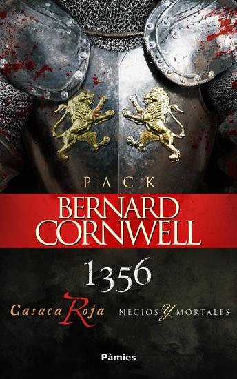 Pack Bernard Cornwell - 1356 CASACA ROJA y NECIOS Y MORTALES - cover