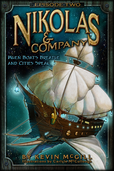 Nikolas and Company - When Boats Breathe and Cities Speak - cover