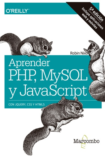 Aprender PHP MySQL y JavaScript - cover