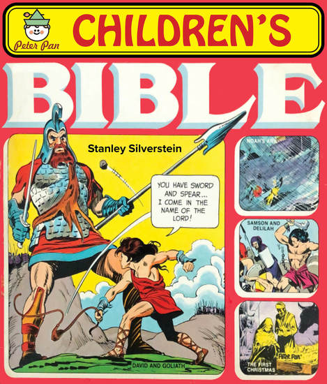 The Peter Pan Children's Bible Storybook - cover