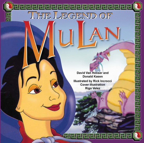 The Legend of Mulan - cover