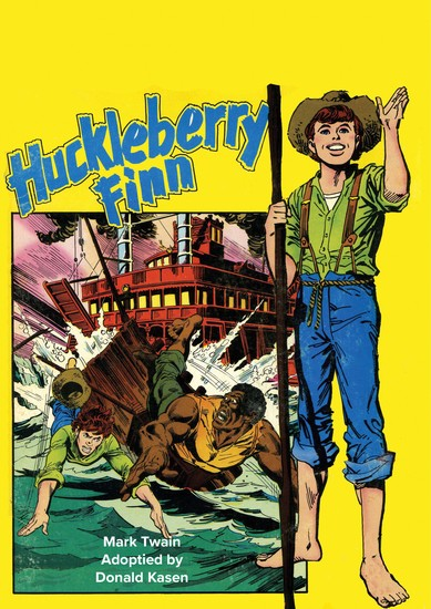 The Adventures of Huckleberry Finn! - cover
