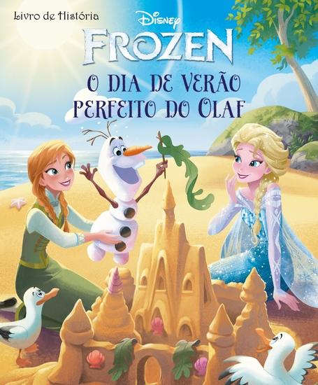 O dia de verão perfeito para Olaf - Frozen Livro de História - cover