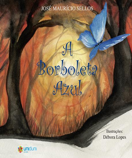 A Borboleta Azul - cover