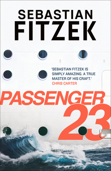 Passenger 23 - dive in to a twisted and terrifying thriller - cover