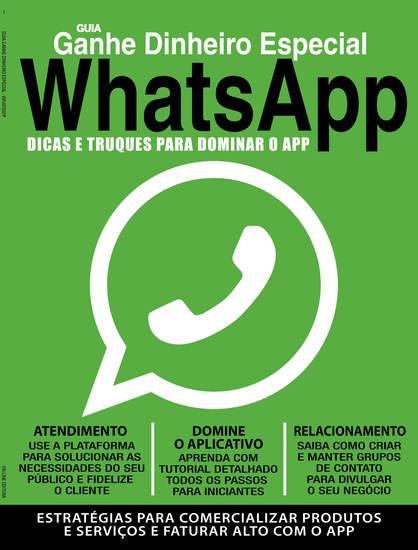WhatsApp - Guia Ganhe dinheiro especial - cover