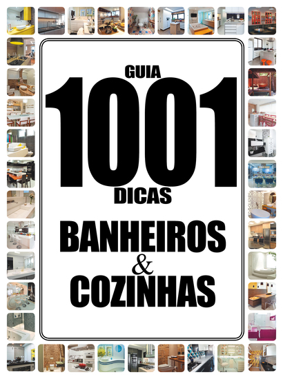 Guia 1001 Dicas Banheiros e Cozinhas - cover