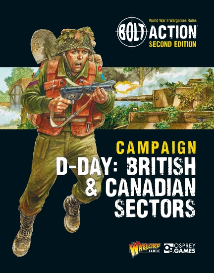 Bolt Action: Campaign: D-Day: British & Canadian Sectors - cover