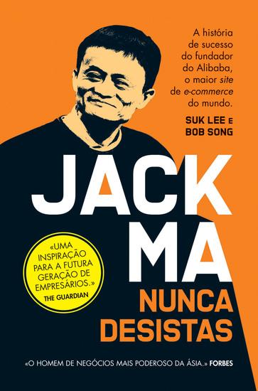 Jack Ma - Nunca Desistas - cover