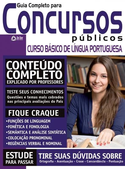 Guia Completo para Concursos Públicos - Português - cover