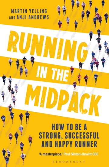 Running in the Midpack - How to be a Strong Successful and Happy Runner - cover