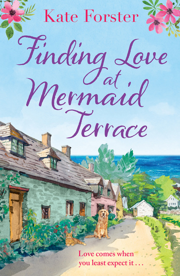 Finding Love at Mermaid Terrace - an utterly heartwarming feel good spring romance - cover
