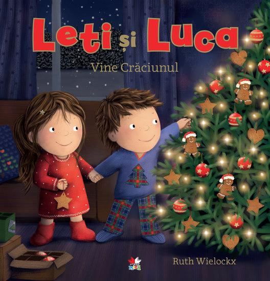Leti si Luca Vine Craciunul - cover