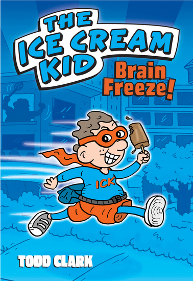 The Ice Cream Kid: Brain Freeze! (PagePerfect NOOK Book) - cover