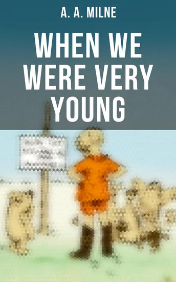 When We Were Very Young - Children's Book of Poetry & Verses - cover
