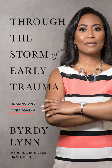 Through the Storm of Early Trauma - Healing and Overcoming - cover