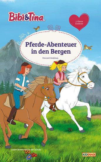 Bibi & Tina - Pferde-Abenteuer in den Bergen - Erstlesebuch - cover