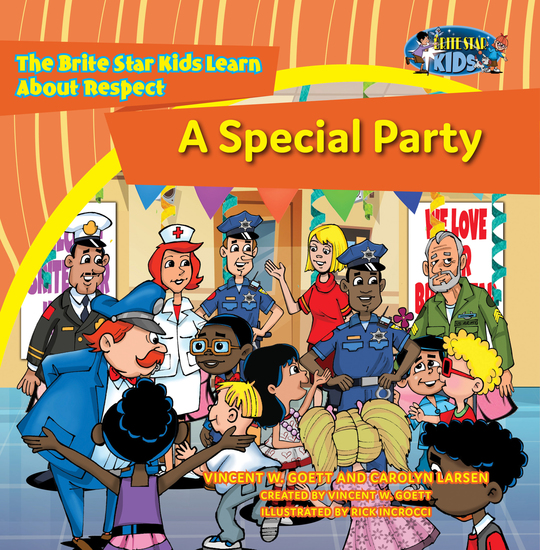 A Special Party - The Brite Star Kids Learn About Respect - cover