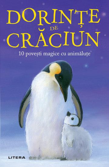 Dorințe de Crăciun - 10 povești magice cu animăluțe - cover