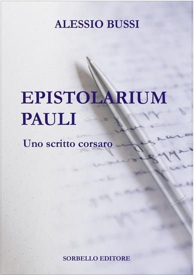 EPISTOLARIUM PAULI - Uno scritto corsaro - cover