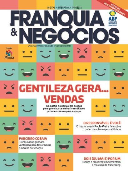 Revista Franquia & Negócios Ed 84 - Gentileza Gera Vendas - cover