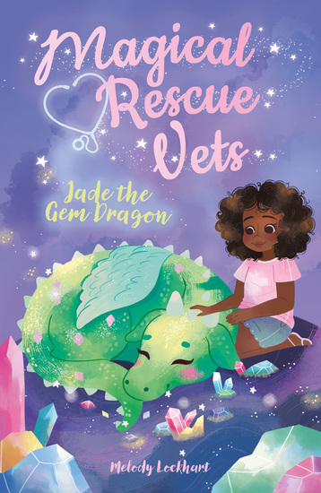 Magical Rescue Vets: Jade the Gem Dragon - cover