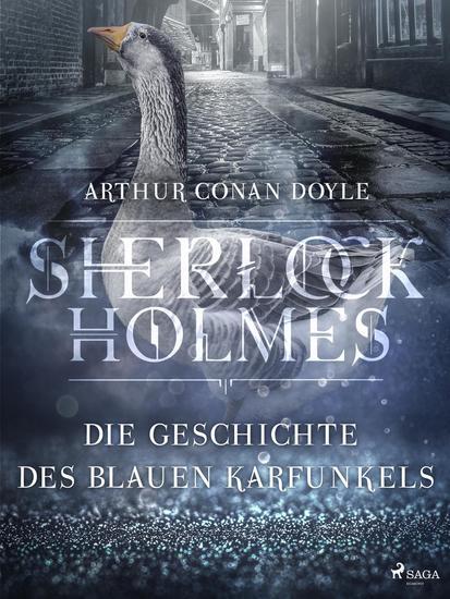 Die Geschichte des blauen Karfunkels - cover