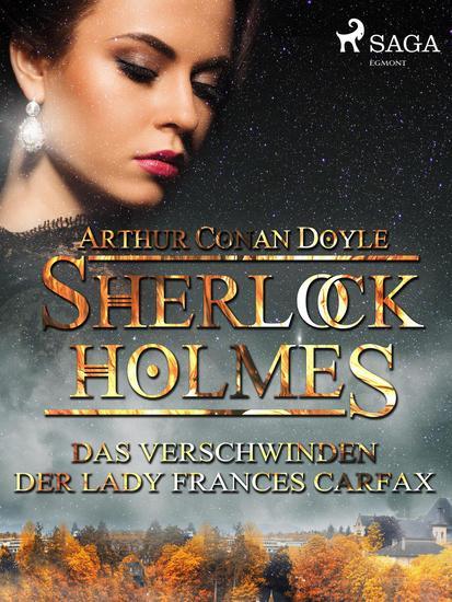 Das Verschwinden der Lady Frances Carfax - cover