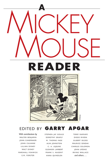 A Mickey Mouse Reader - cover