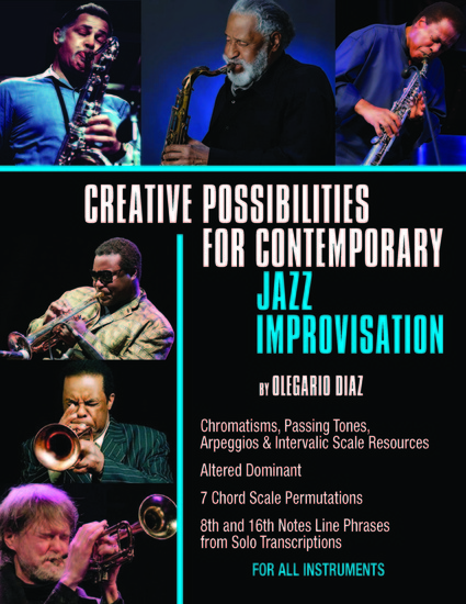 Creative Possibilities for Contemporary Jazz Improvisation - cover