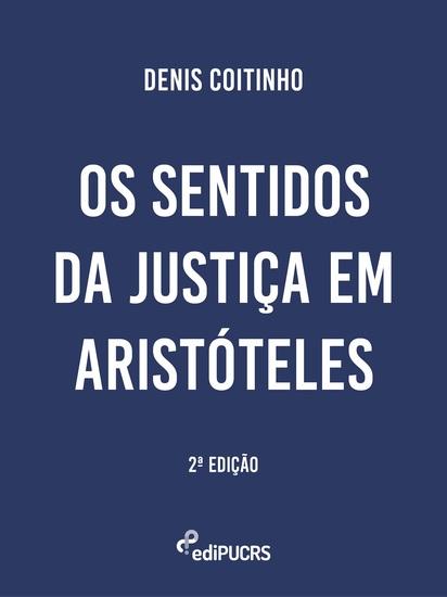 Os sentidos da justiça em Aristóteles - cover