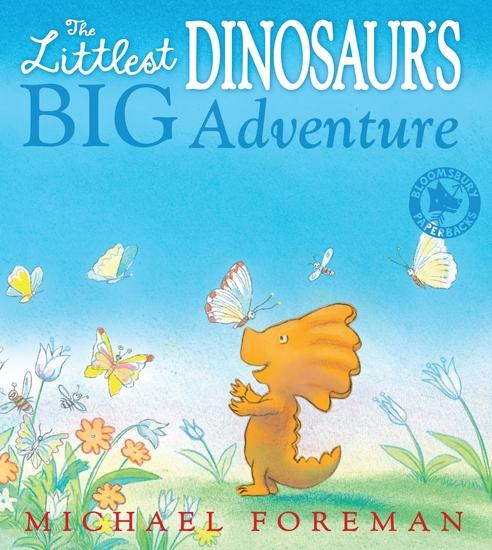 The Littlest Dinosaur's Big Adventure - cover
