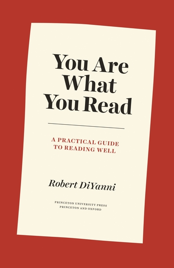You Are What You Read - A Practical Guide to Reading Well - cover