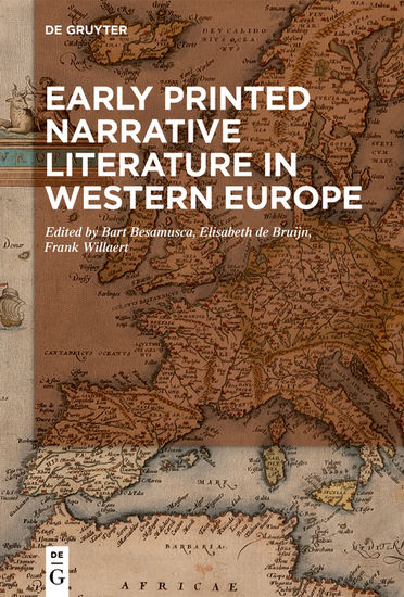 Early Printed Narrative Literature in Western Europe - cover