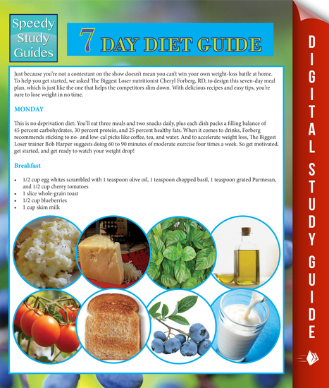 7 Day Diet Guide (Speedy Study Guide) - cover