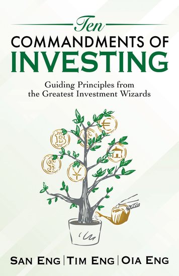 Ten Commandments of Investing - Guiding Principles from the Greatest Investment Wizards - cover