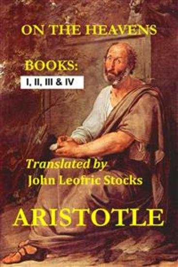 On the heavens - Translated by John Leofric Stocks - cover
