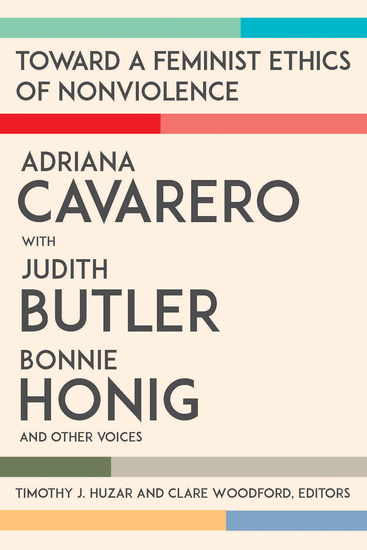 Toward a Feminist Ethics of Nonviolence - cover