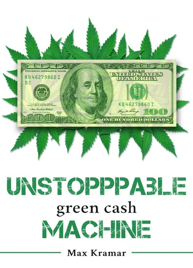 Unstoppable green cash machine - cover