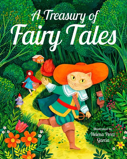 A Treasury of Fairy Tales - cover